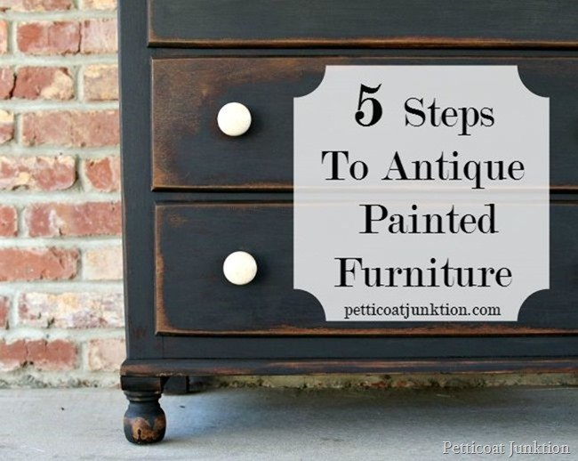 Antiqued Painted Furniture Furniture Ideas