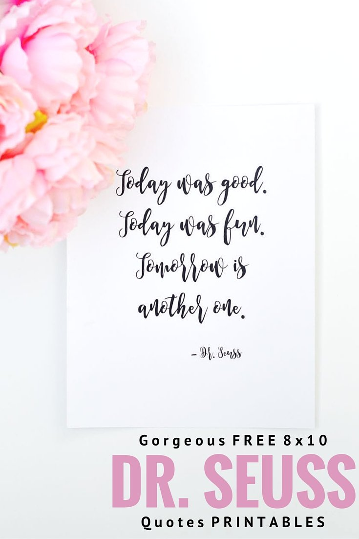 Love Quote Dr Seuss Free Printable Drseuss Quotes  Make Life Lovely