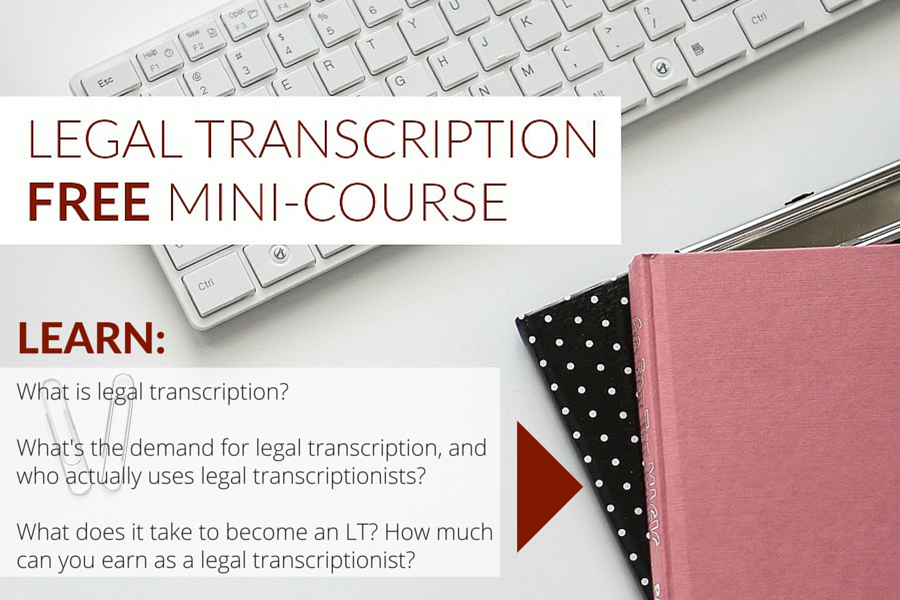 LT Mini-course optin - Transcribe Anywhere