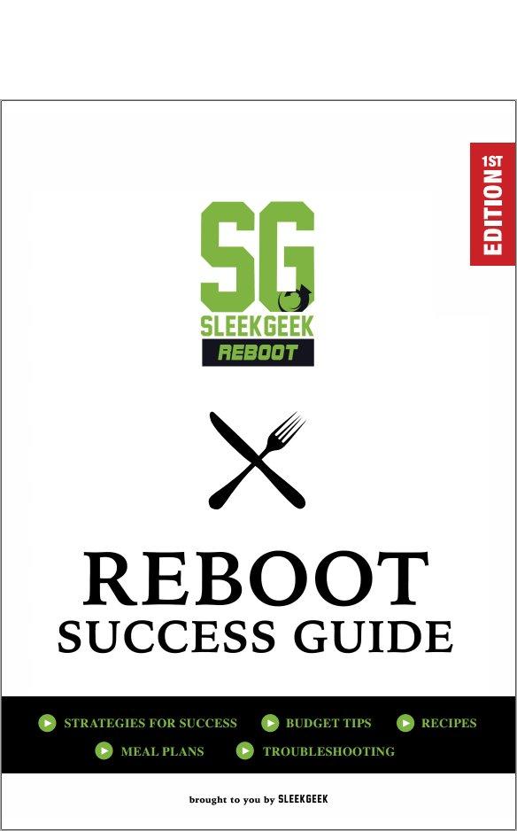 30 day sleekgeek reboot challenge sleekgeek get the official sleekgeek food list fandeluxe Gallery