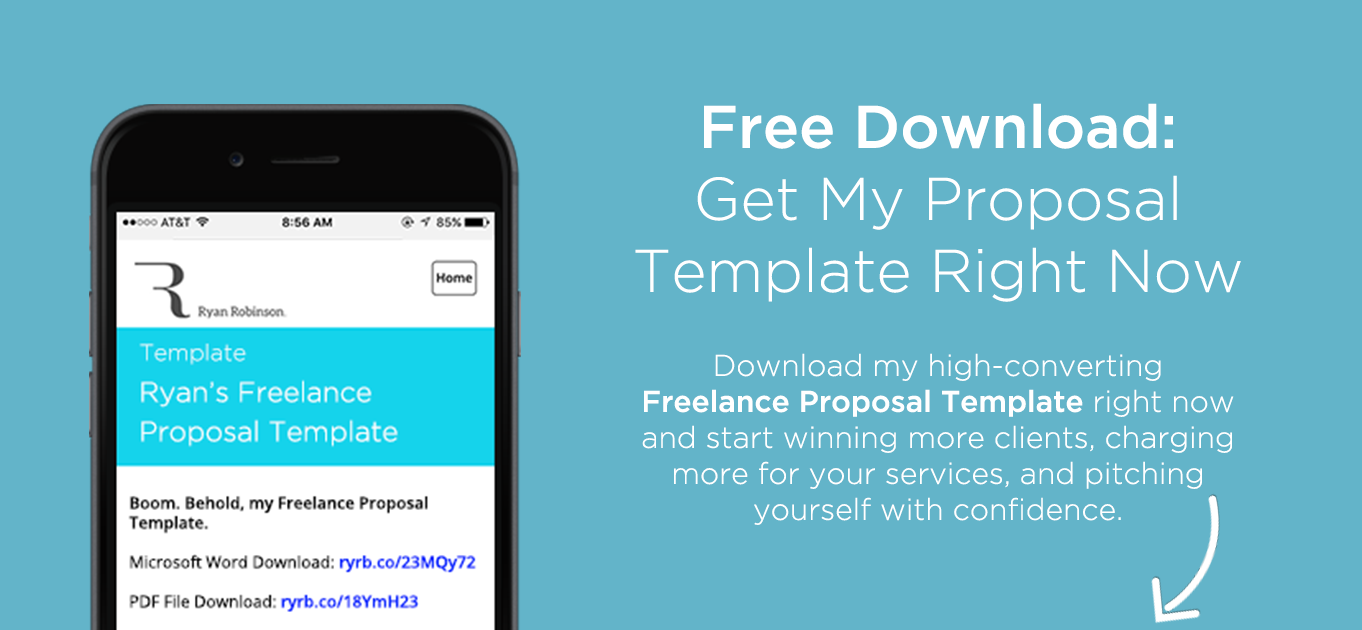 5 Steps to Write the Best Freelance Proposal Free Template – It Project Proposal Template Free Download