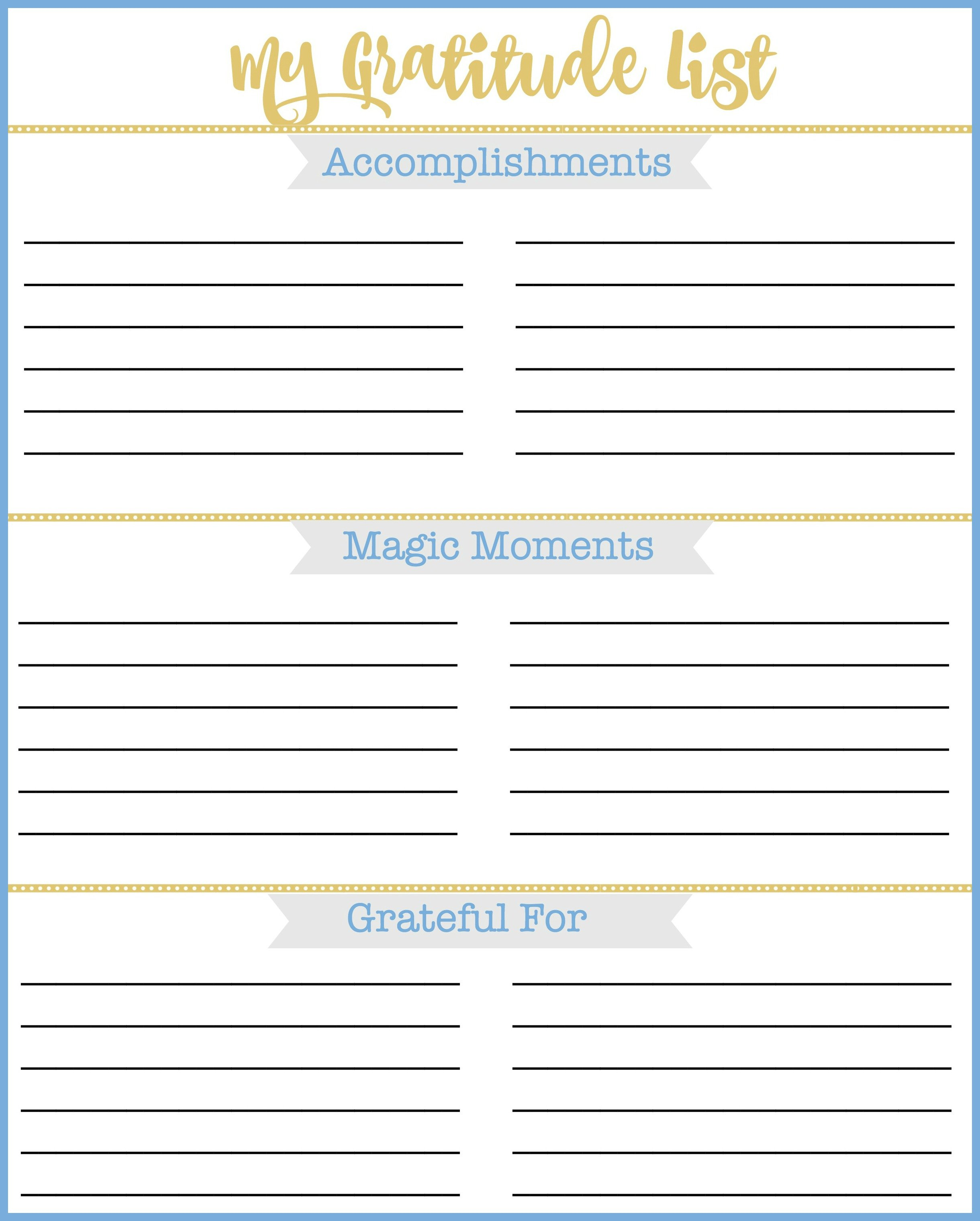 Printables Gratitude List Worksheet free printable gratitude list to help you reflect on the past year d4642e337b801482342695 worksheet jpg