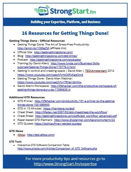 getting things done david allen  pdf