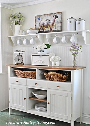 Farmhouse Kitchen Sideboard